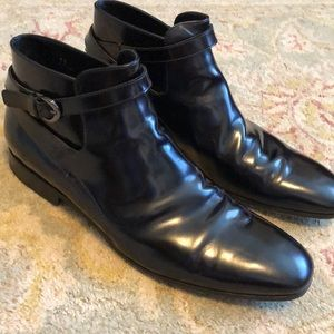 Tod's Mens Luxury Leather Ankle Boot